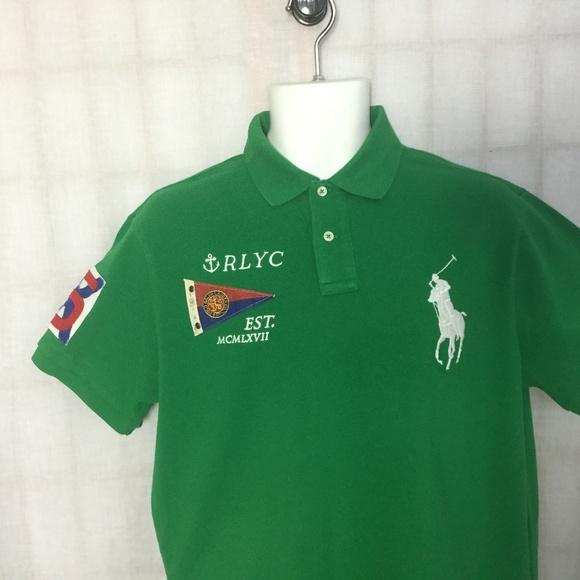 acbec9c0f035a Polo Ralph Lauren Shirt RLYC Custom Fit M L Pony. M 5aa94d113afbbd7a3fc88dc1